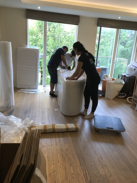 house removals packing service